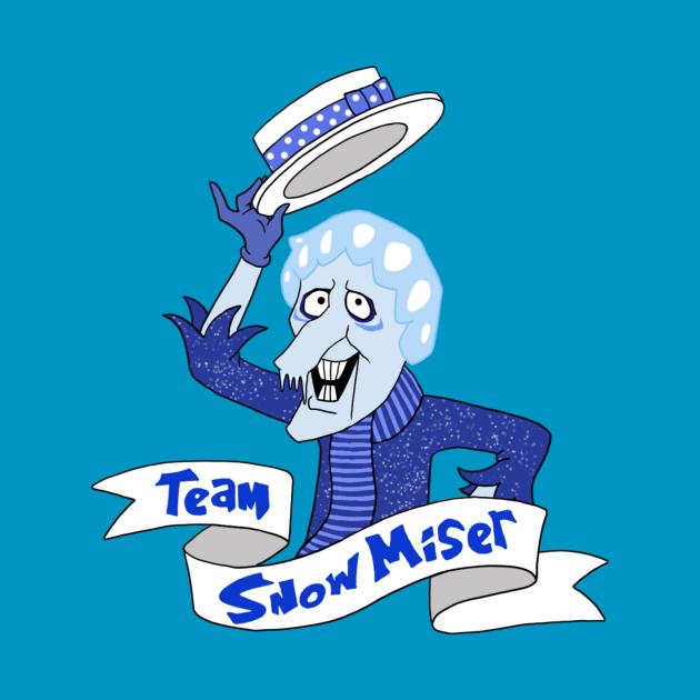TeePublic: Team Snow Miser