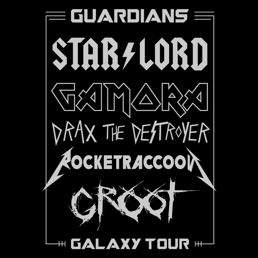 Pop-Up Tee: Guardians Galaxy Tour