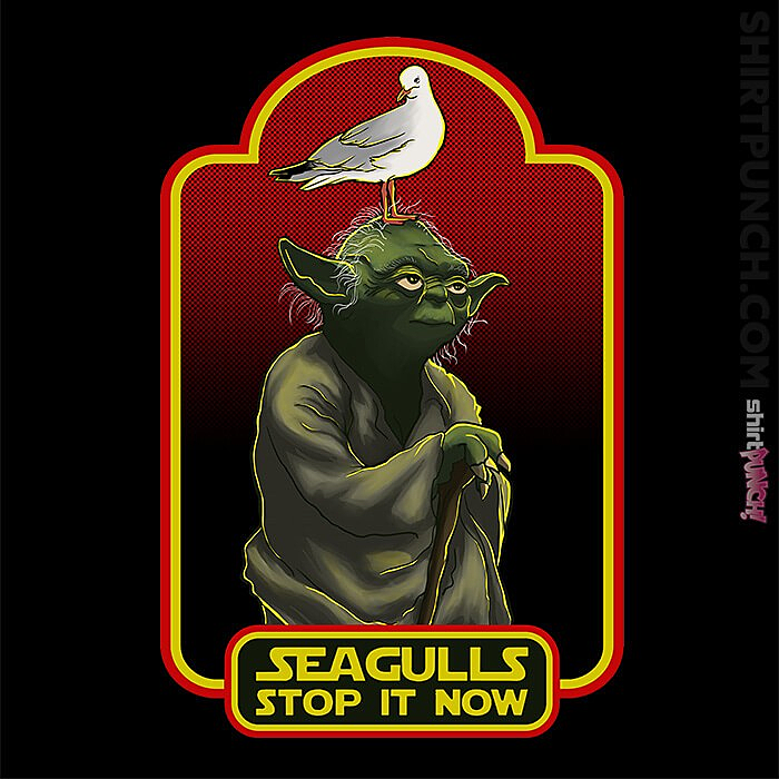 ShirtPunch: Seagulls Stop It Now