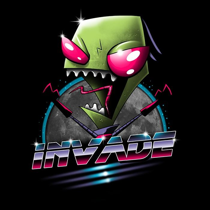 Once Upon a Tee: Rad Invader