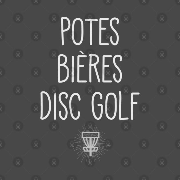 TeePublic: Potes Bières Disc Golf