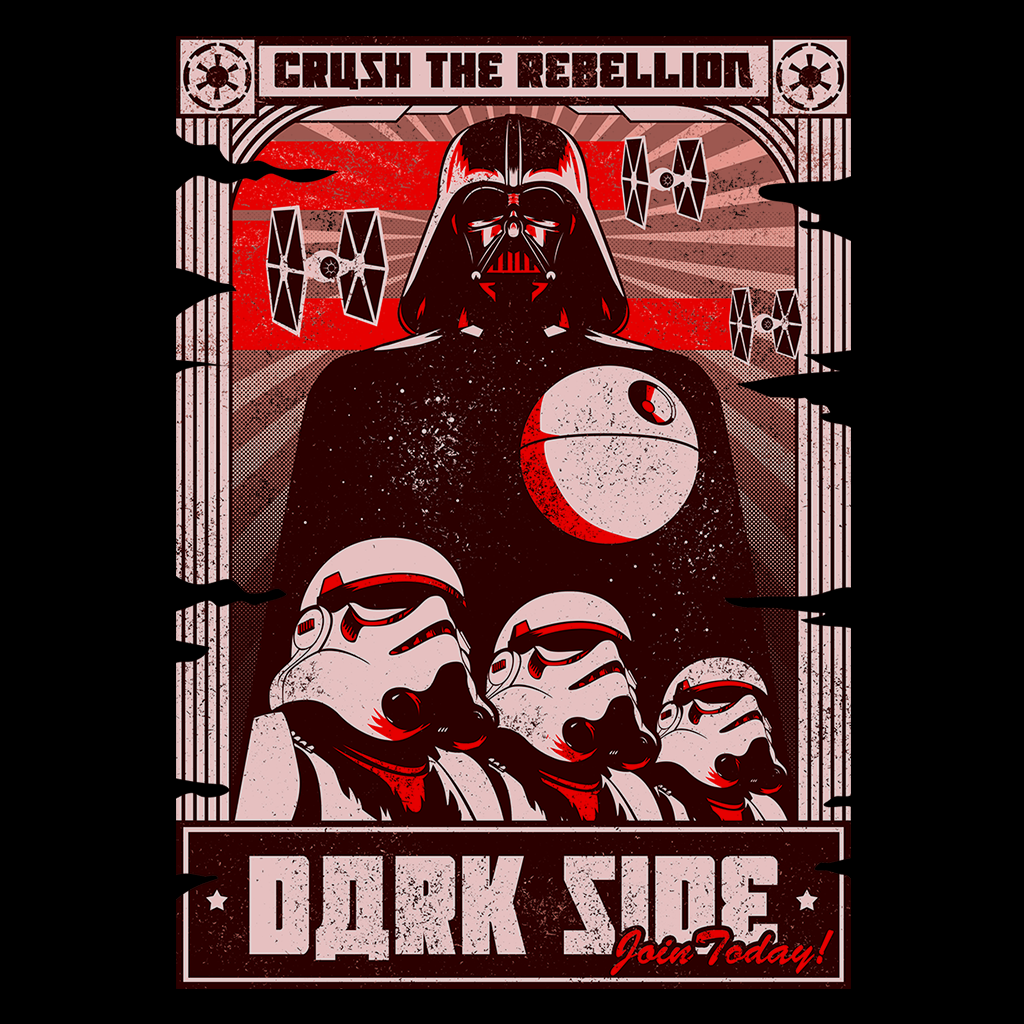 Pop-Up Tee: Join The Dark Side