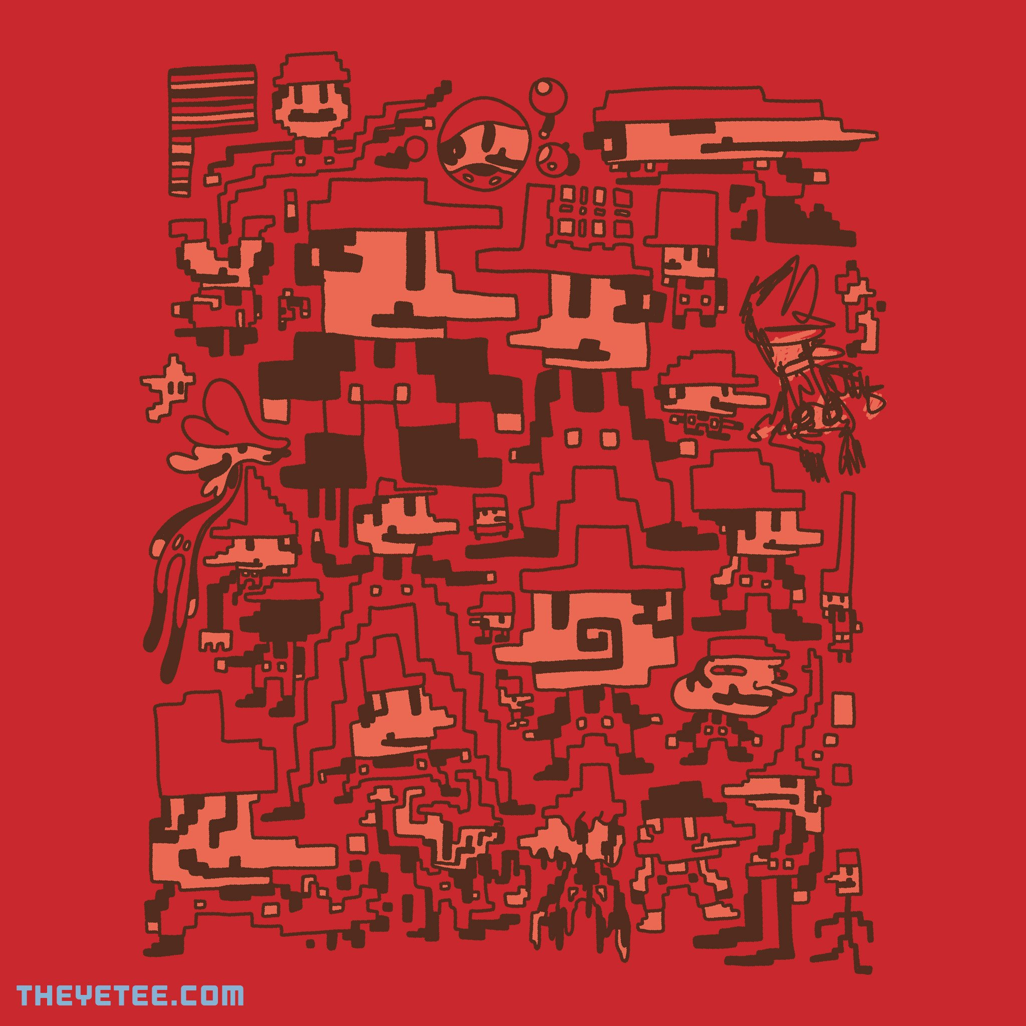The Yetee: Failed Experiments In Plumbing No. 21885-21916