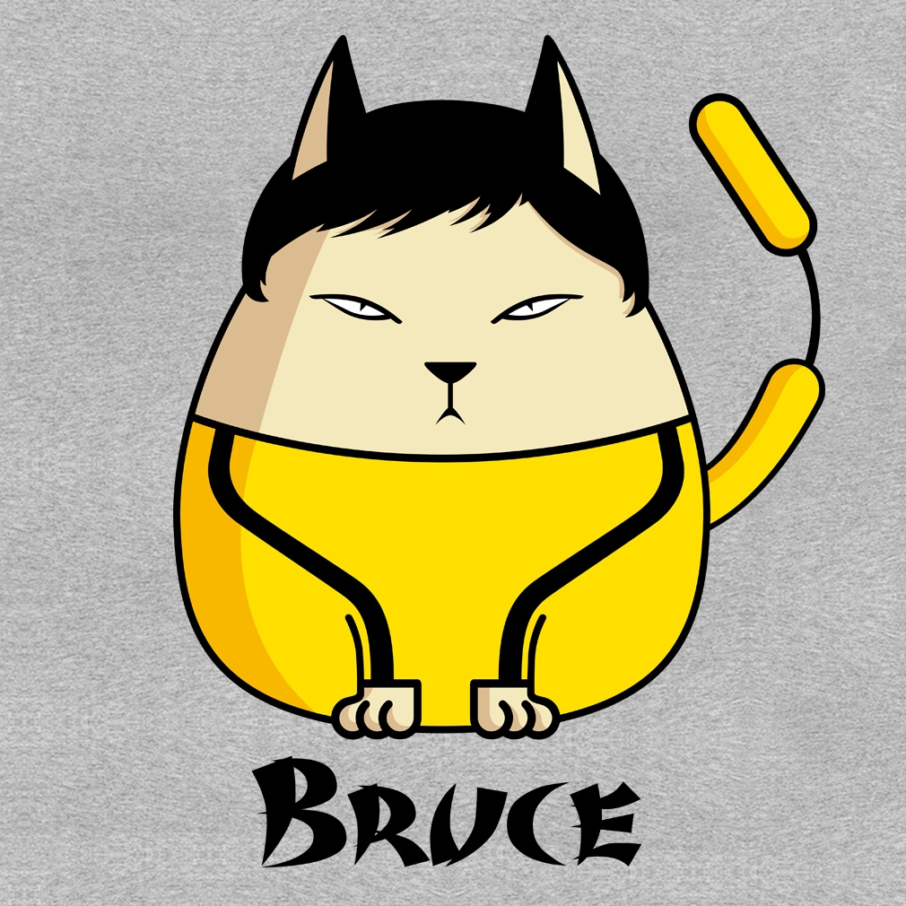 TeeTournament: Bruce the Cat