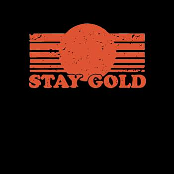 BustedTees: Stay Gold - Hoodie