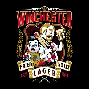 TeeFury: Fried Gold Lager