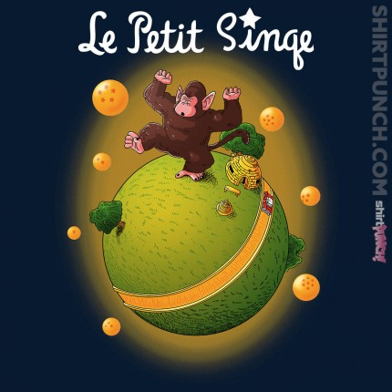 ShirtPunch: Le Petit Singe