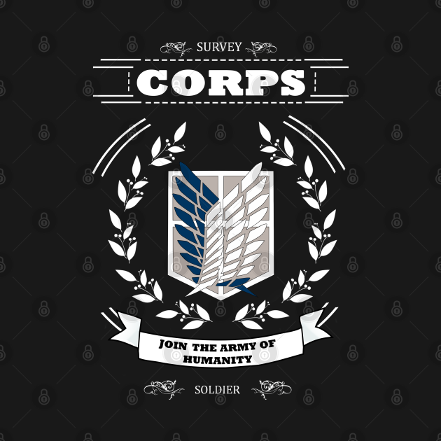 TeePublic: Join Survey Corps