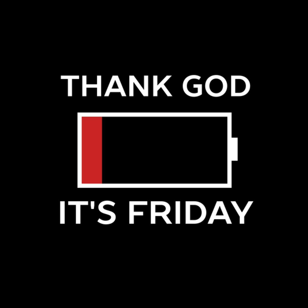NeatoShop: Woohoo Thank God It's Friday Retro Vintage