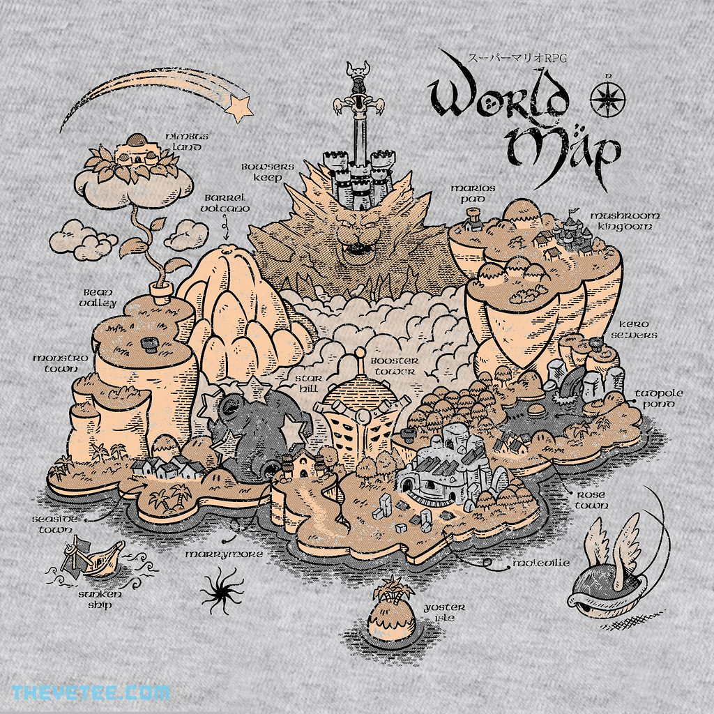 The Yetee: World Map