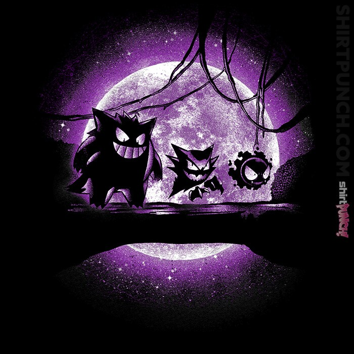 ShirtPunch: Ghostly Forest