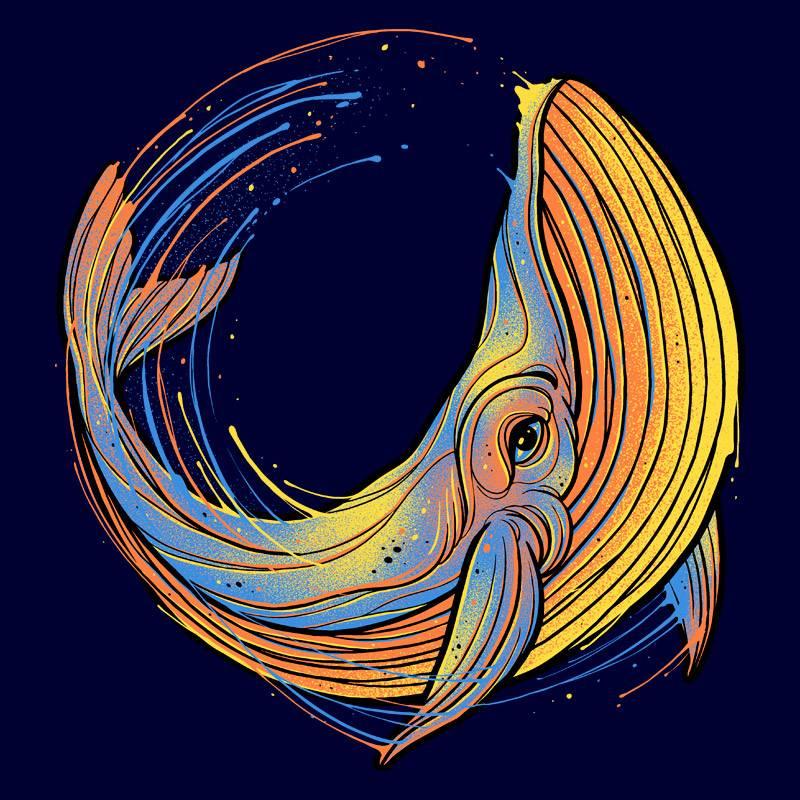 Pampling: A Colorful Swim