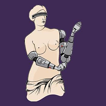 BustedTees: Venus De Milo