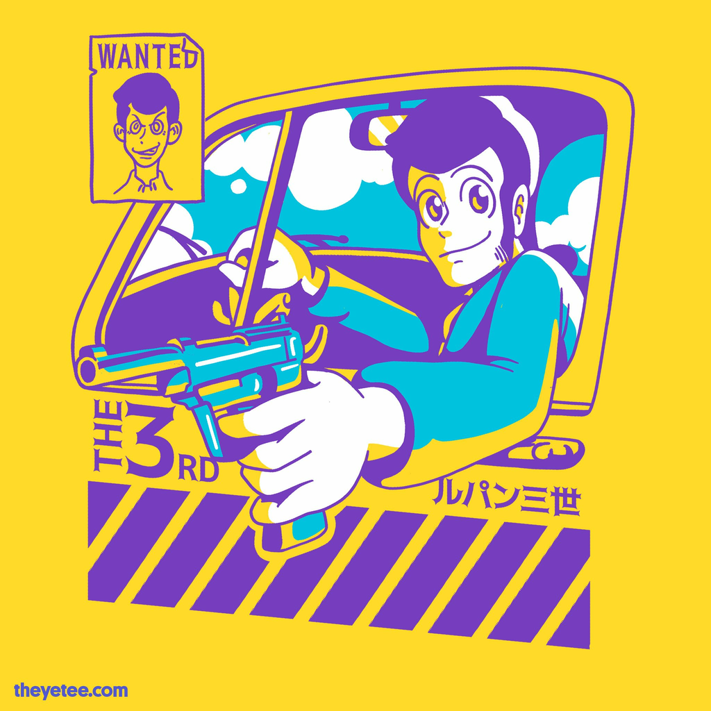 The Yetee: Gentleman Thief