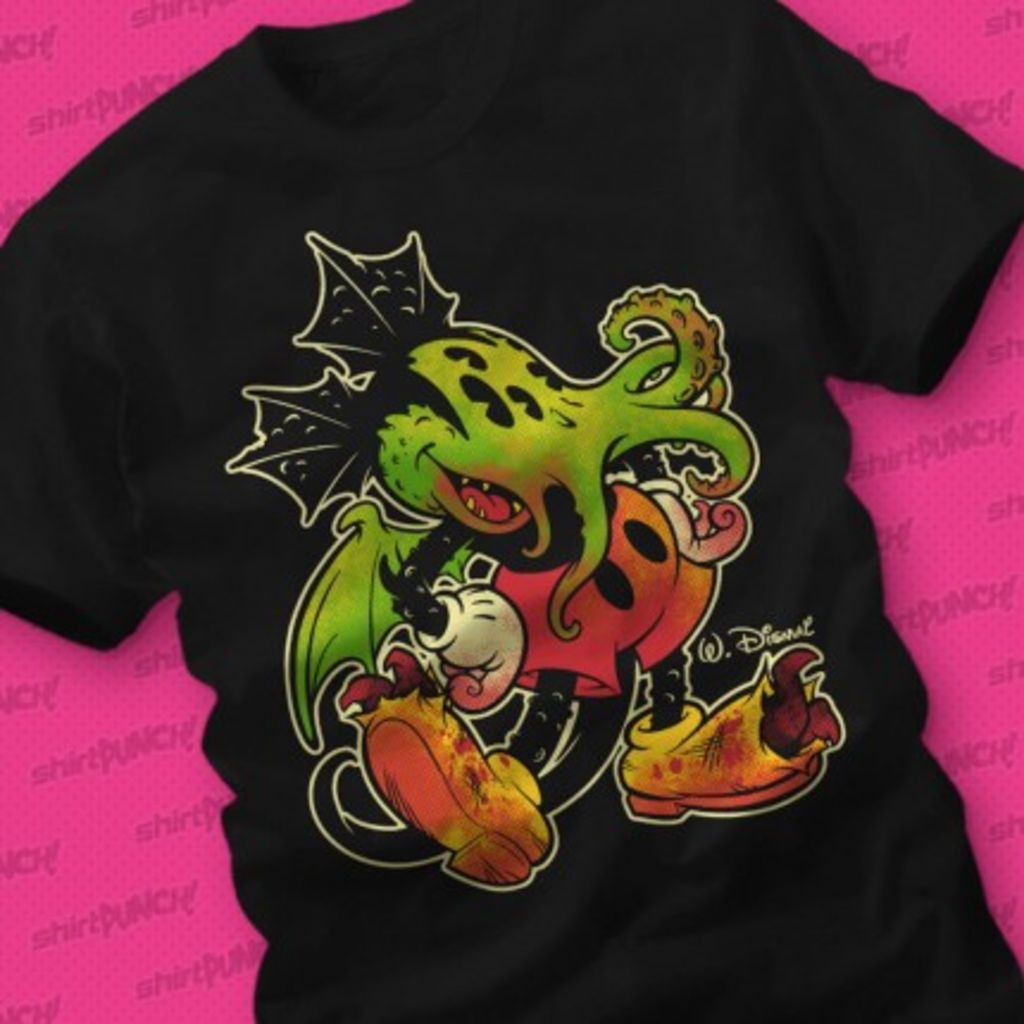 ShirtPunch: Mickthulhu Mouse