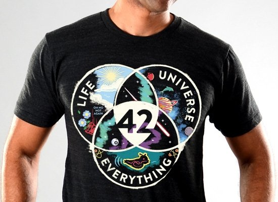 SnorgTees: Life, Universe, Everything Limited Edition Tri-Blend