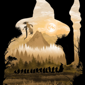 Qwertee: Unexpected Journey