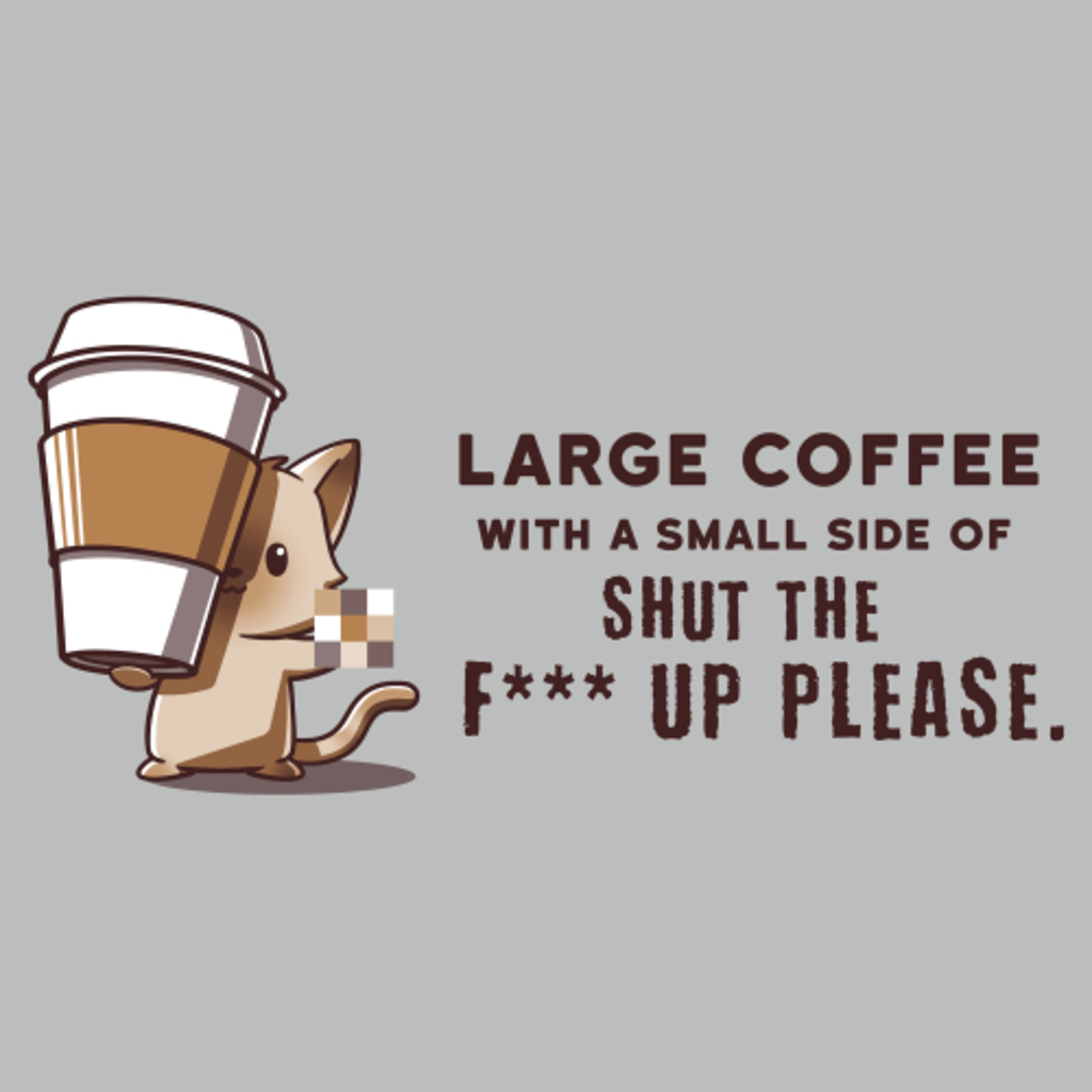 TeeTurtle: Large Coffee, Please