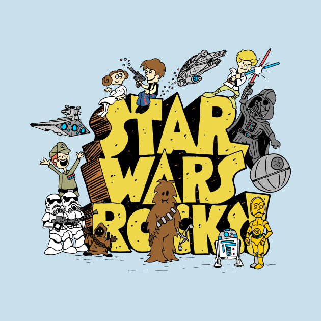 TeePublic: Star Wars Rocks
