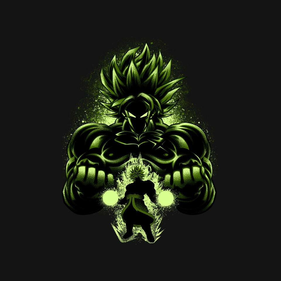 TeeFury: The Legendary Saiyan