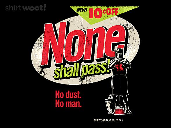 Woot!: No Dust. No Man.