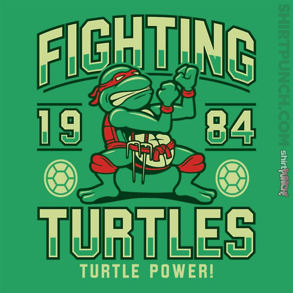 ShirtPunch: Fighting Turtles