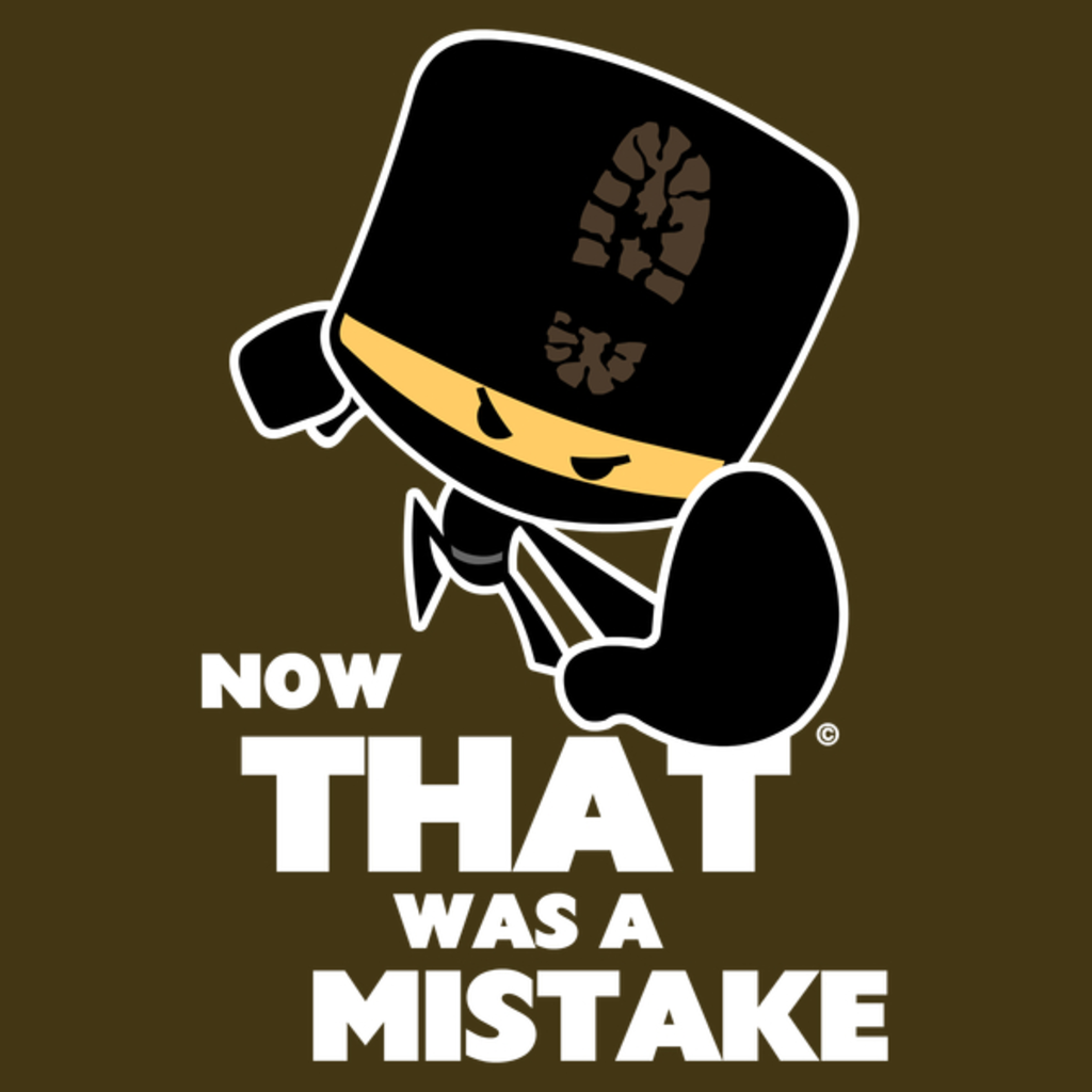 NeatoShop: Now That was a Mistake