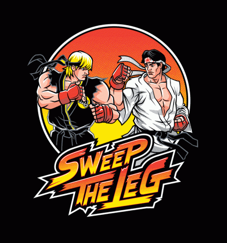 BustedTees: Sweep the Leg
