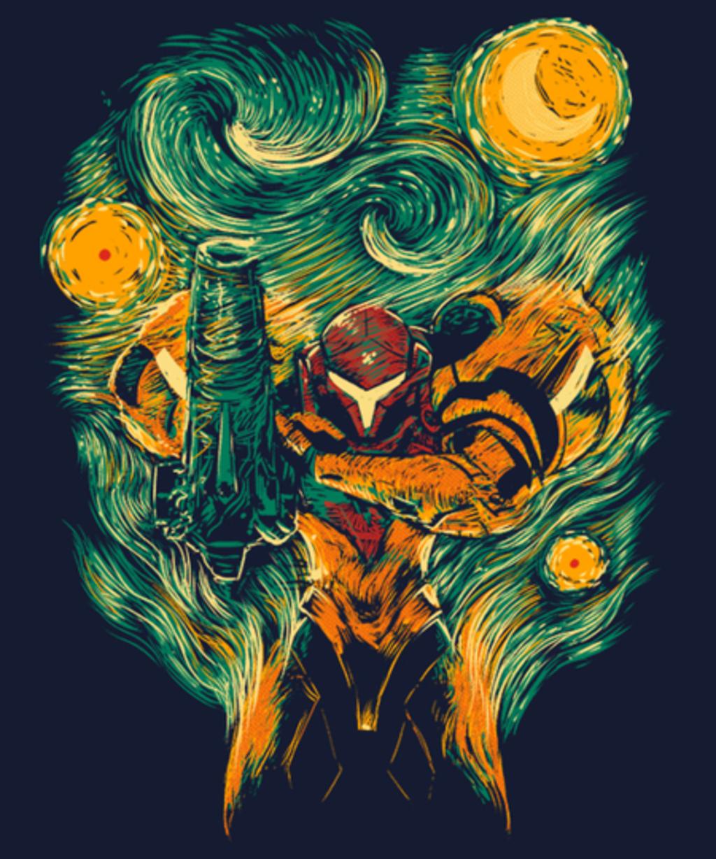 Qwertee: Starry Hunter