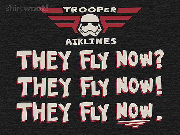 Woot!: They Fly Now?