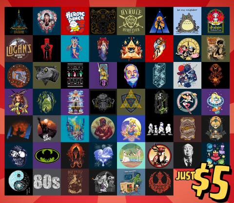 TeeFury: February 2016 Grab Bag