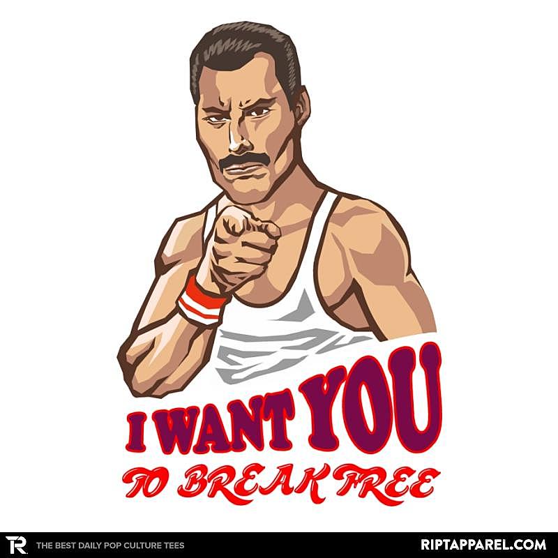 Ript: I Want You To Break Free