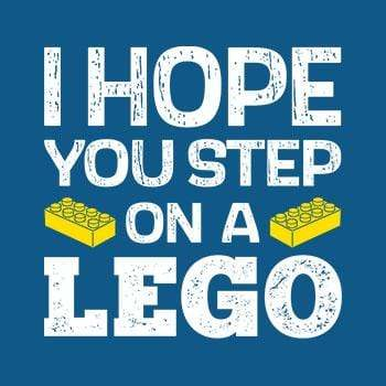 BustedTees: Step On Lego