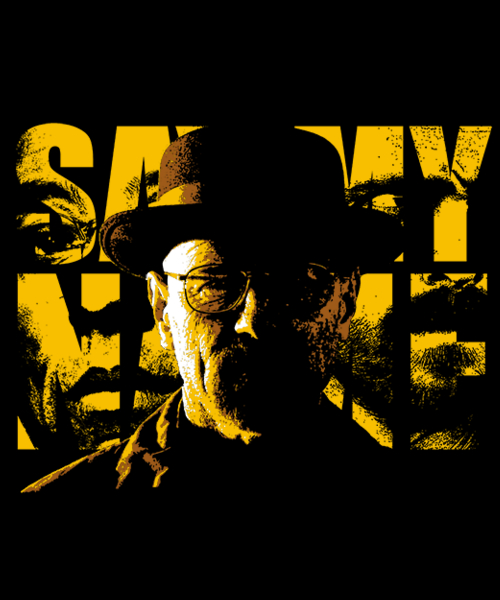 Qwertee: Say My Name