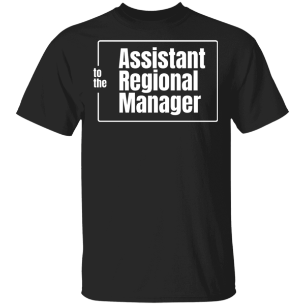 Pop-Up Tee: Assistant To The Regional Manager