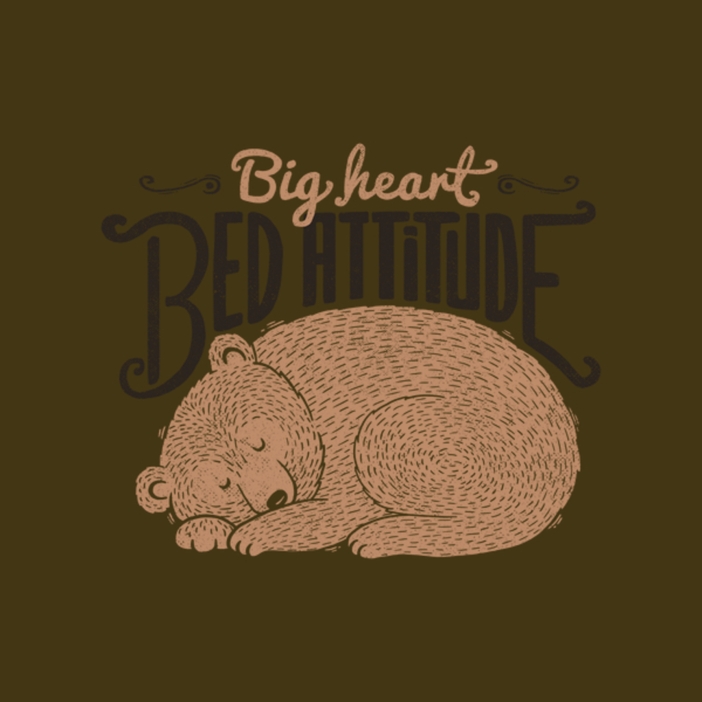 NeatoShop: Big Heart Bed Attitude