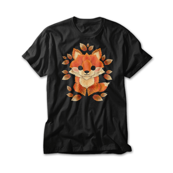 OtherTees: Little fox of leaves
