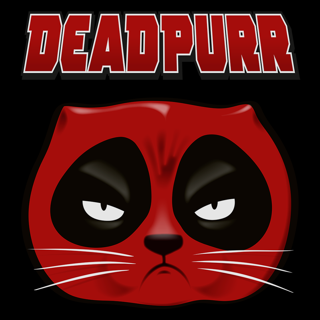 Pop-Up Tee: Deadpurr