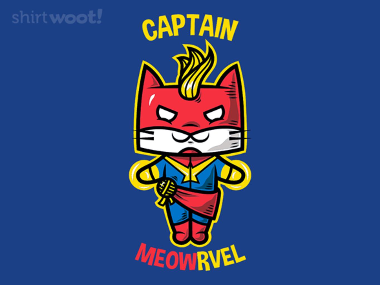Woot!: Captain Meowrvel