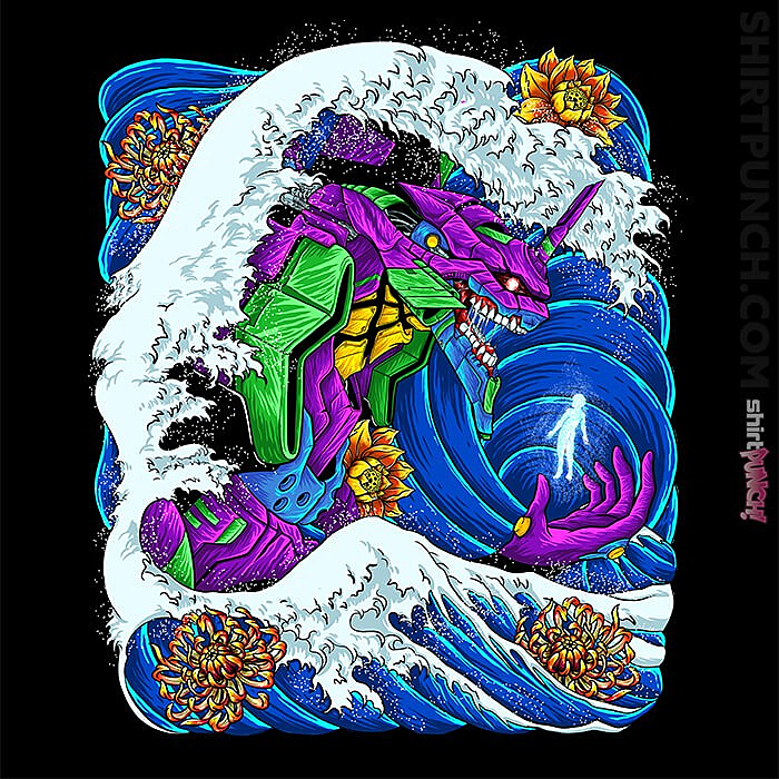 ShirtPunch: Eva-01 Wave