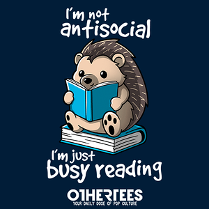 OtherTees: Antisocial hedgehog