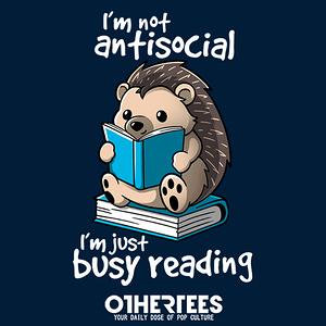 OtherTees: Antisocial hedgehog