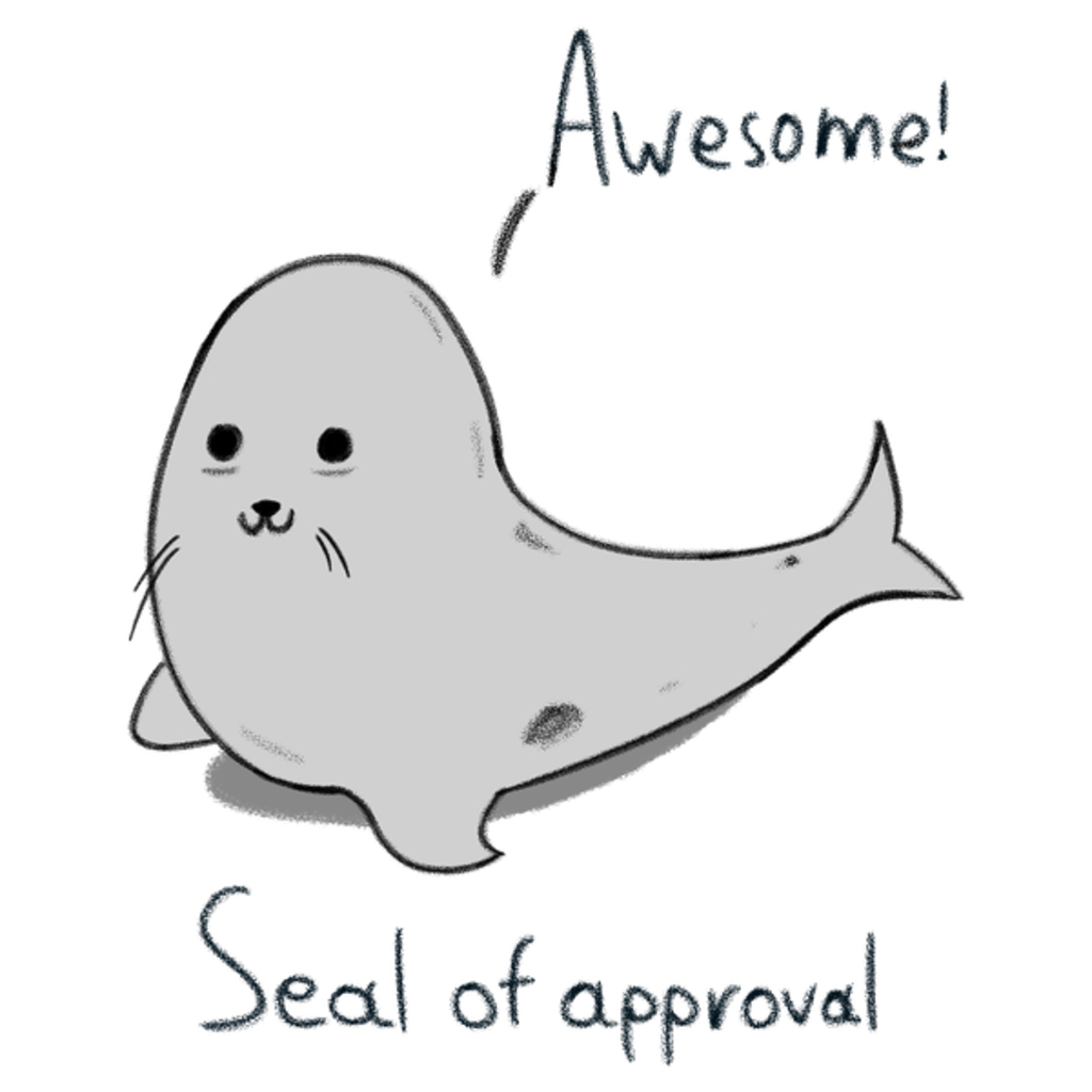 NeatoShop: Seal of approval
