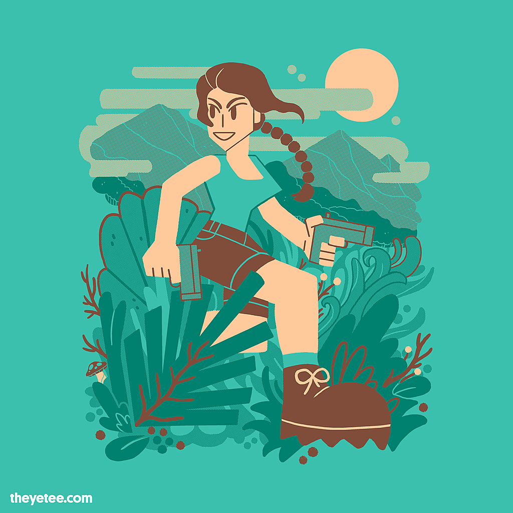 The Yetee: These Boots Were Made For Raidin'