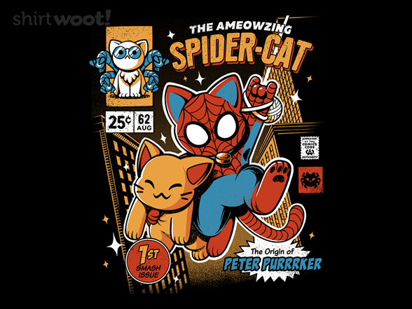 Woot!: Spidercat