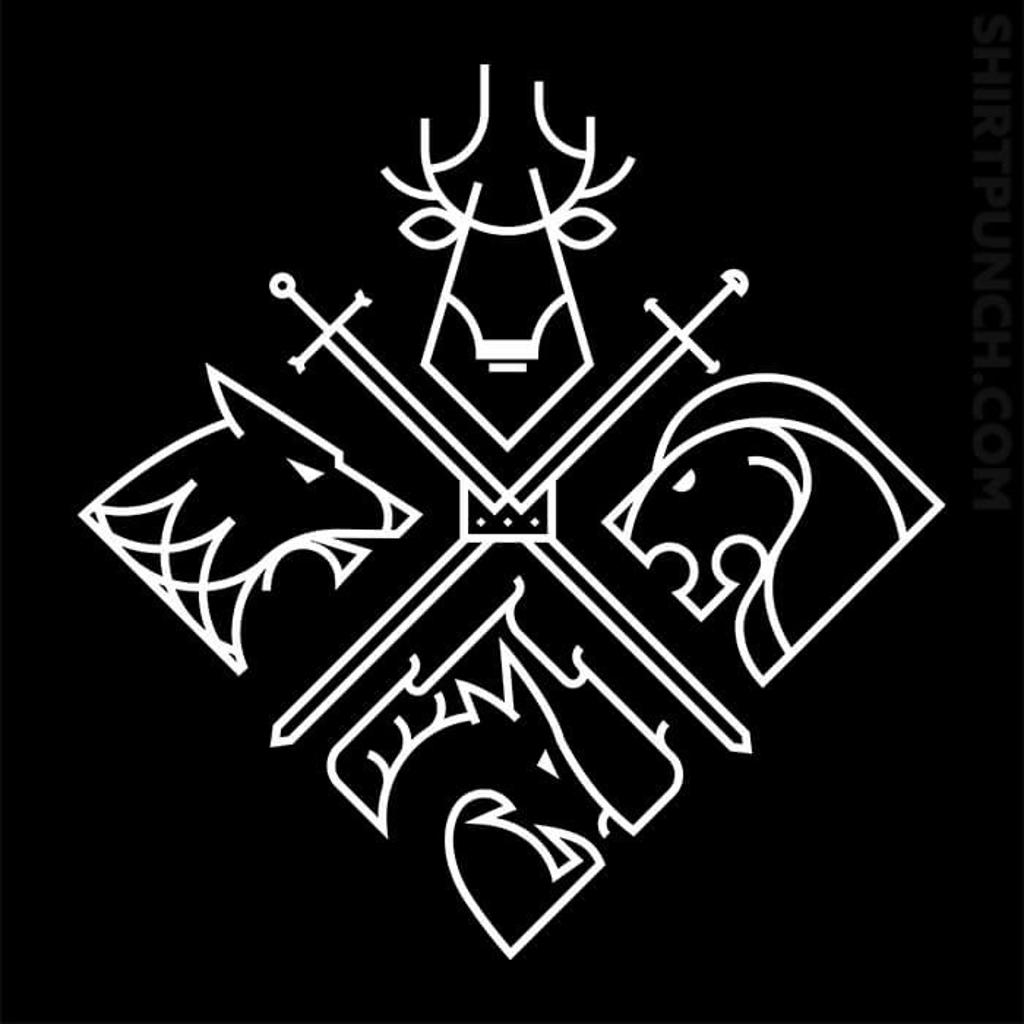 ShirtPunch: Minimal Thrones