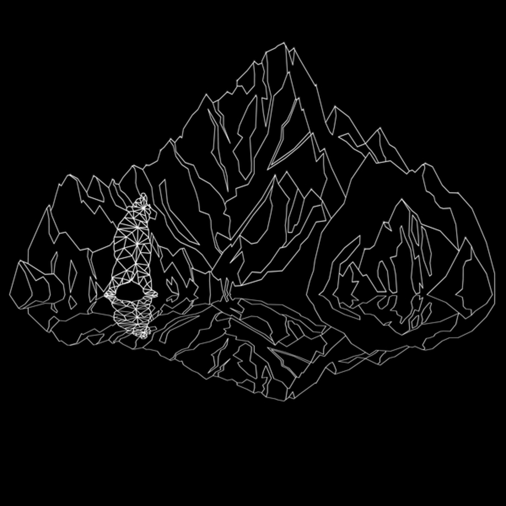 NeatoShop: Mountains Lines and Bear