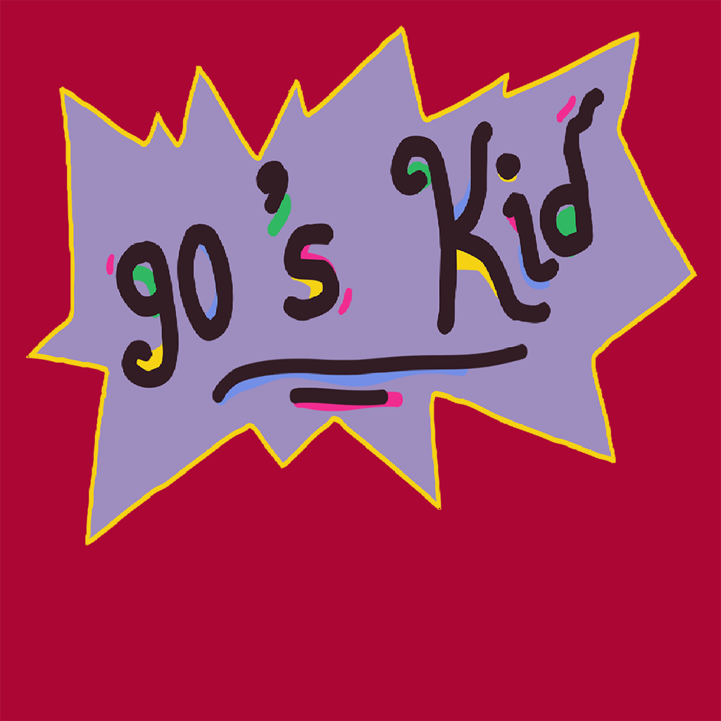 Pop-Up Tee: 90s Kid