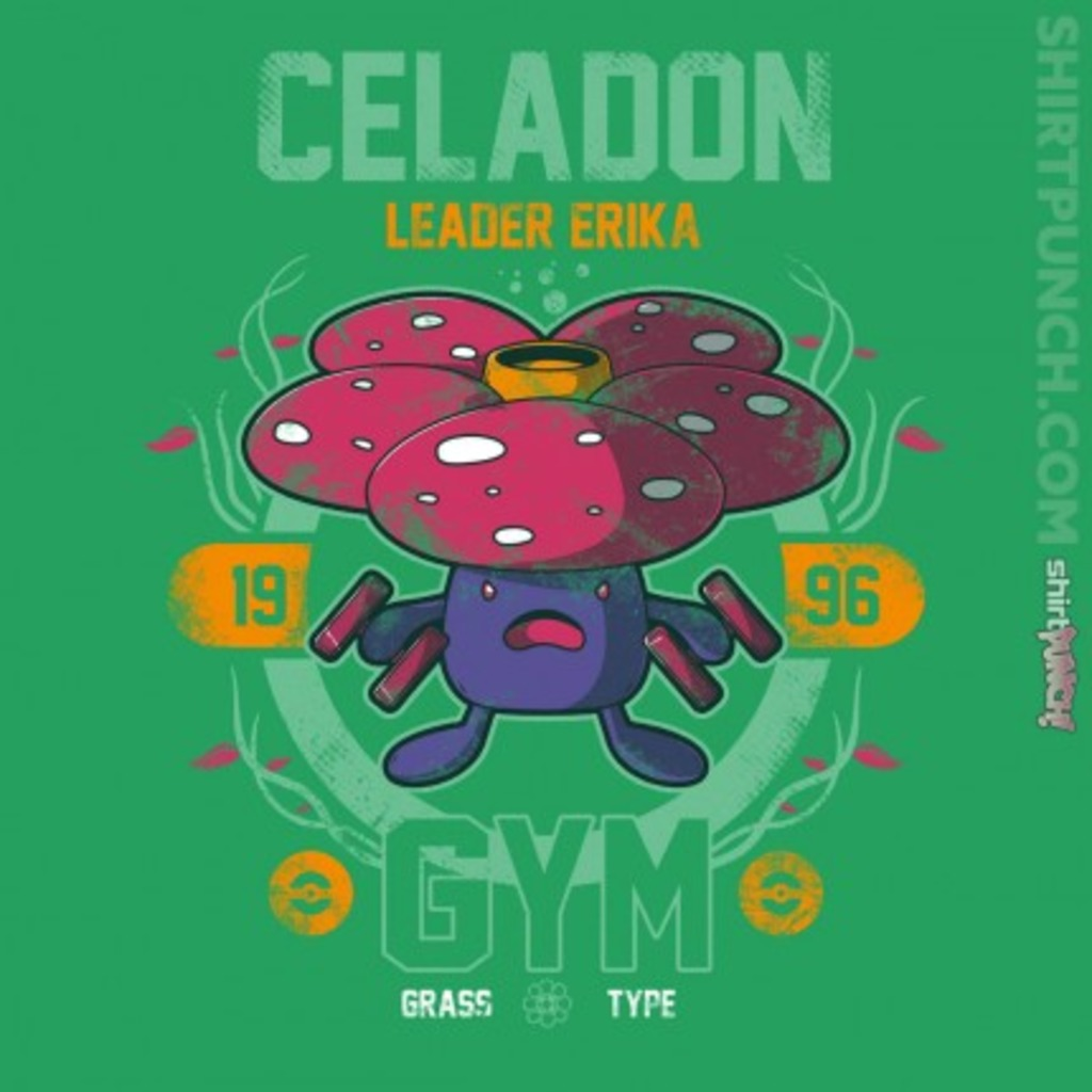 ShirtPunch: Celadon Gym