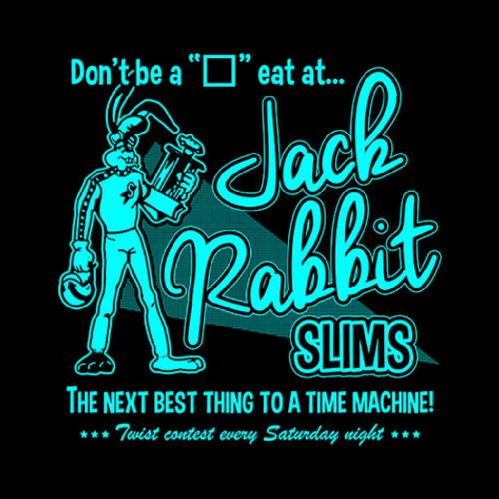 Five Finger Tees: Jack Rabbit Slims T-Shirt